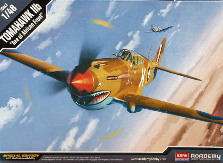 "Academy 1/48 1/48 TOMAHAWK IIB ""ACE OF AFRICAN FRONT"" :LE"