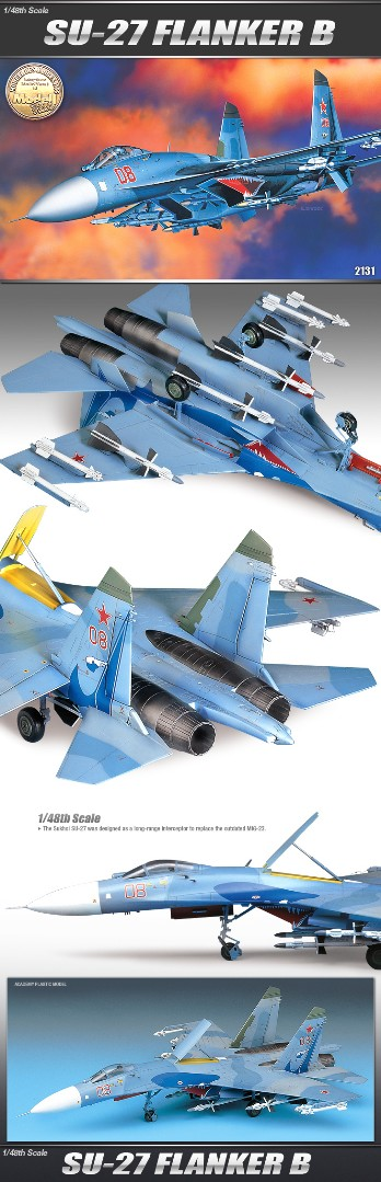 Academy 1/48 S-27 FLANKER B