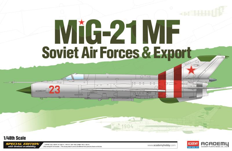 "Academy 1/48 Mig-21 MF ""Soviet Air Force & Export"" LE:"
