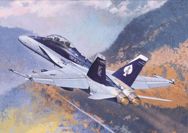 "Academy 1/72 F/A 18D HORNET""US MARINES - Reproduction"