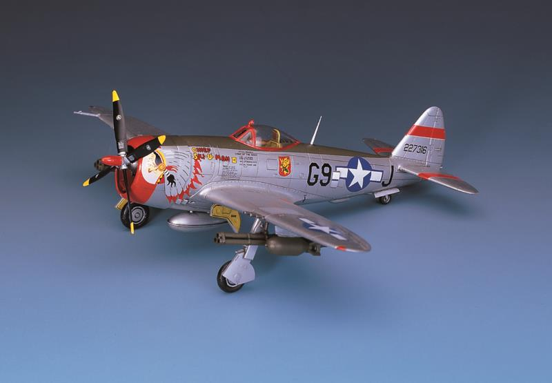 "Academy 1/72 P-47D ""BUBBLE-TOP"""