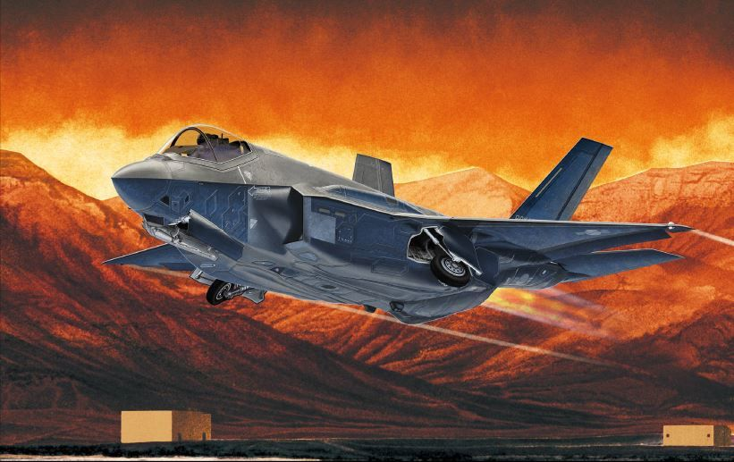 "Academy 1/72 F-35A ""Seven Nation Air Force"""