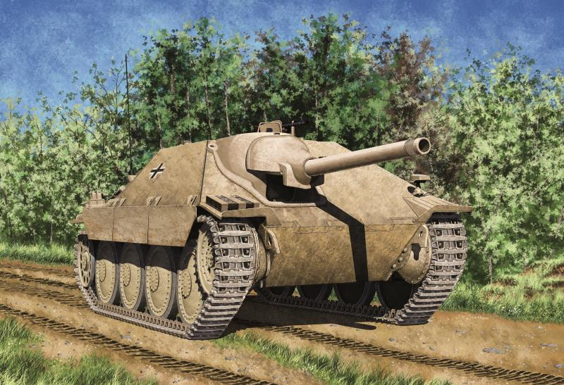 Academy 1/35 HETZER EARLY PRODUCTION