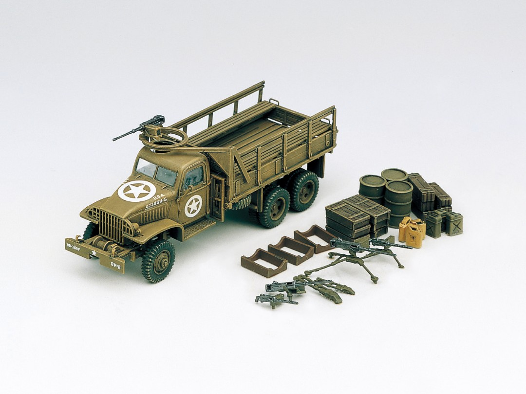 Academy 1/72 US CARGOTRUCK & ACCESSORY