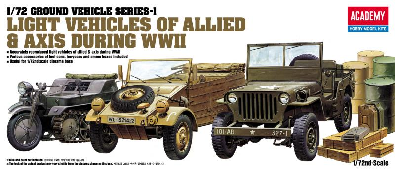 Academy 1/72 GROUND VEHICLE SERIES-1