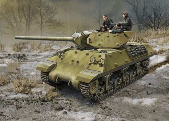 "Academy 1/35 USSR M10 ""Lend-Lease"""