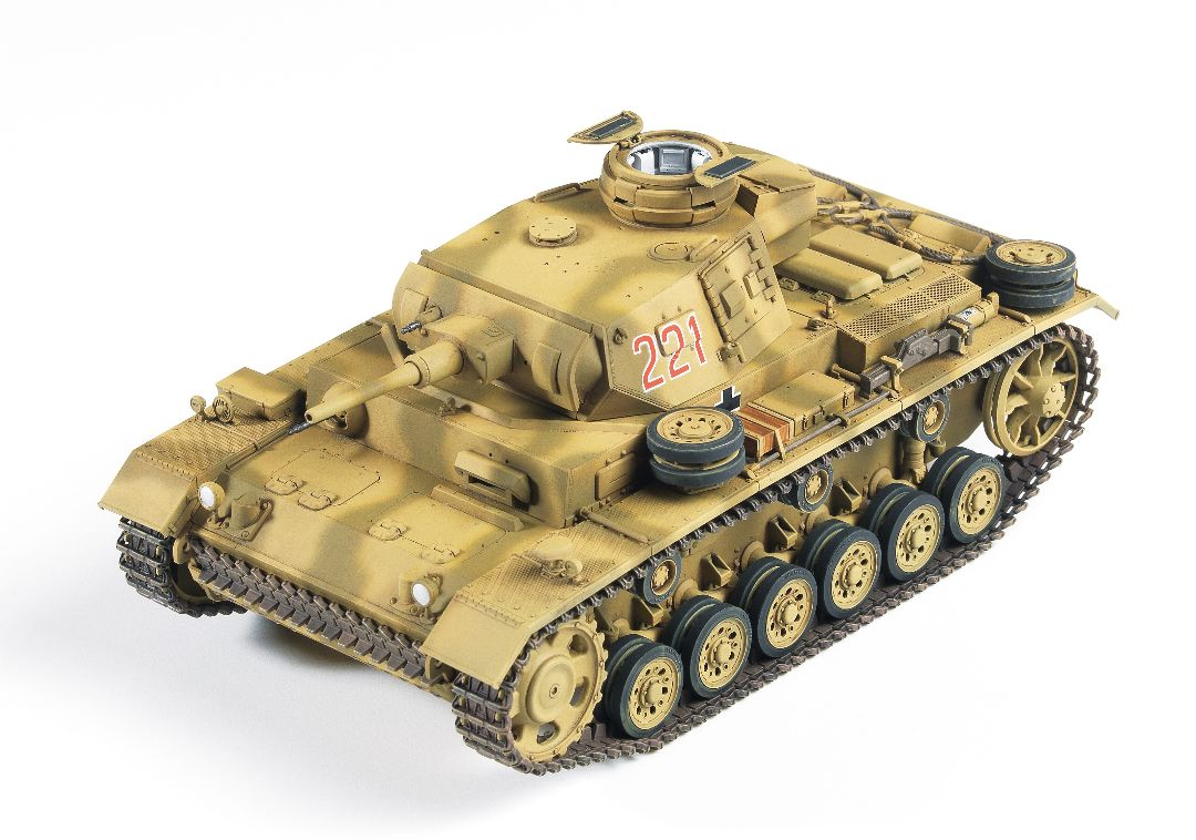 "Academy 1/35 German Panzer III Ausf.J ""North Africa"""