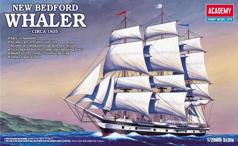 Academy 1/200 NEW BEDFORD WHALER