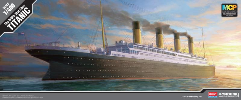 Academy 1/400 The White Star Liner Titanic