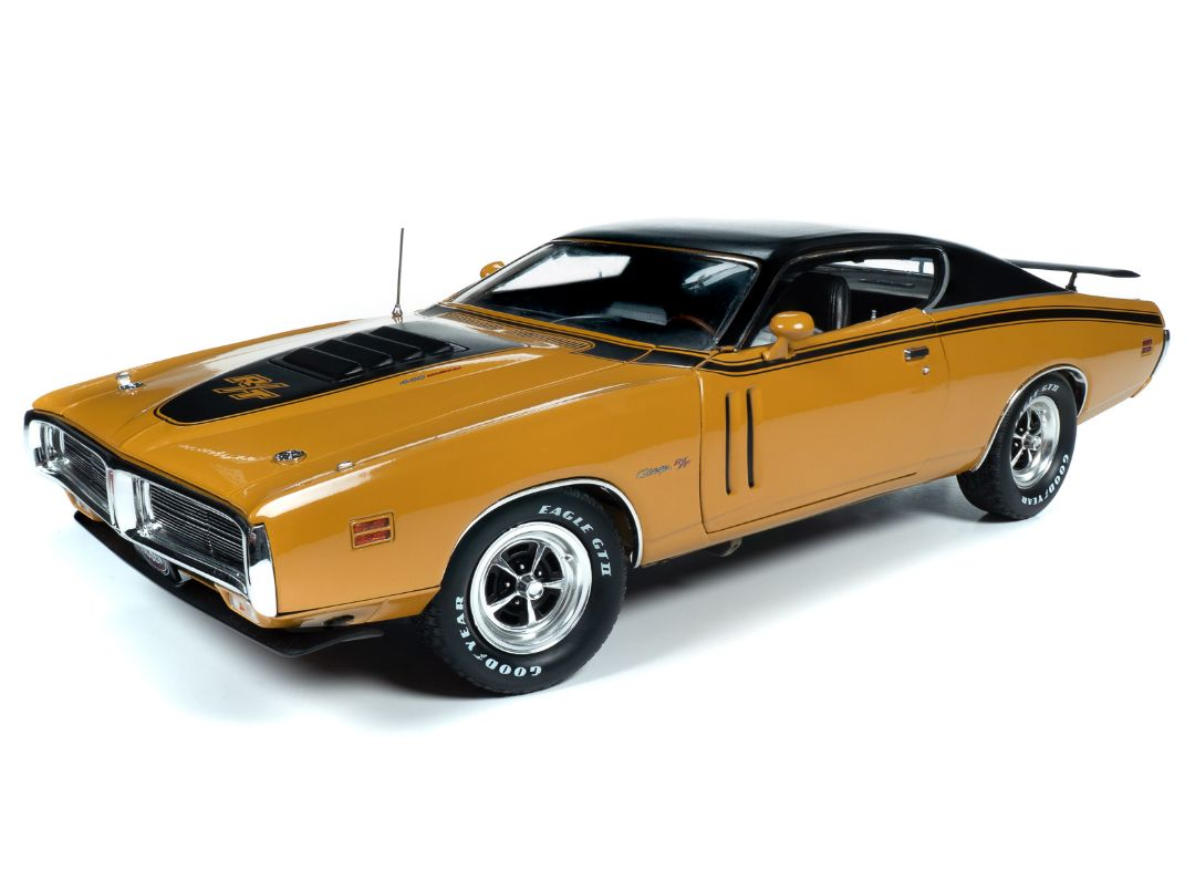 American Muscle 1971 Dodge Charger R/T Hardtop EL5 Butterscotch