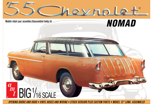 AMT 1955 Chevrolet Nomad 1/16 Model Kit (Level 3)