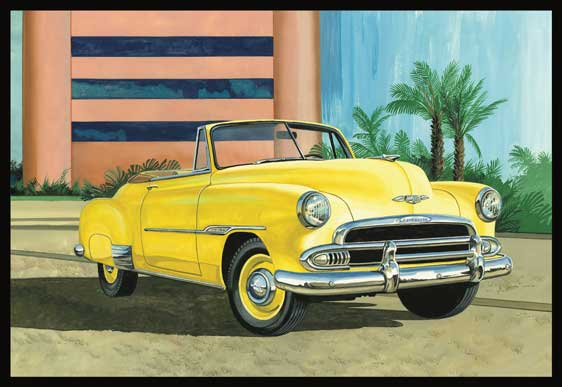 AMT 1951 Chevy Convertible 1/25 Model Kit (Level 2)