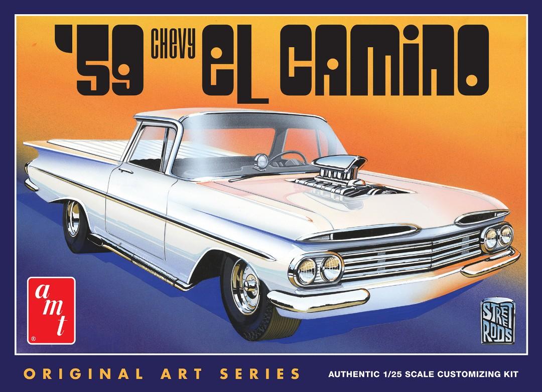 AMT 1959 Chevy El Camino (Original Art Series) 1/25 Model Kit