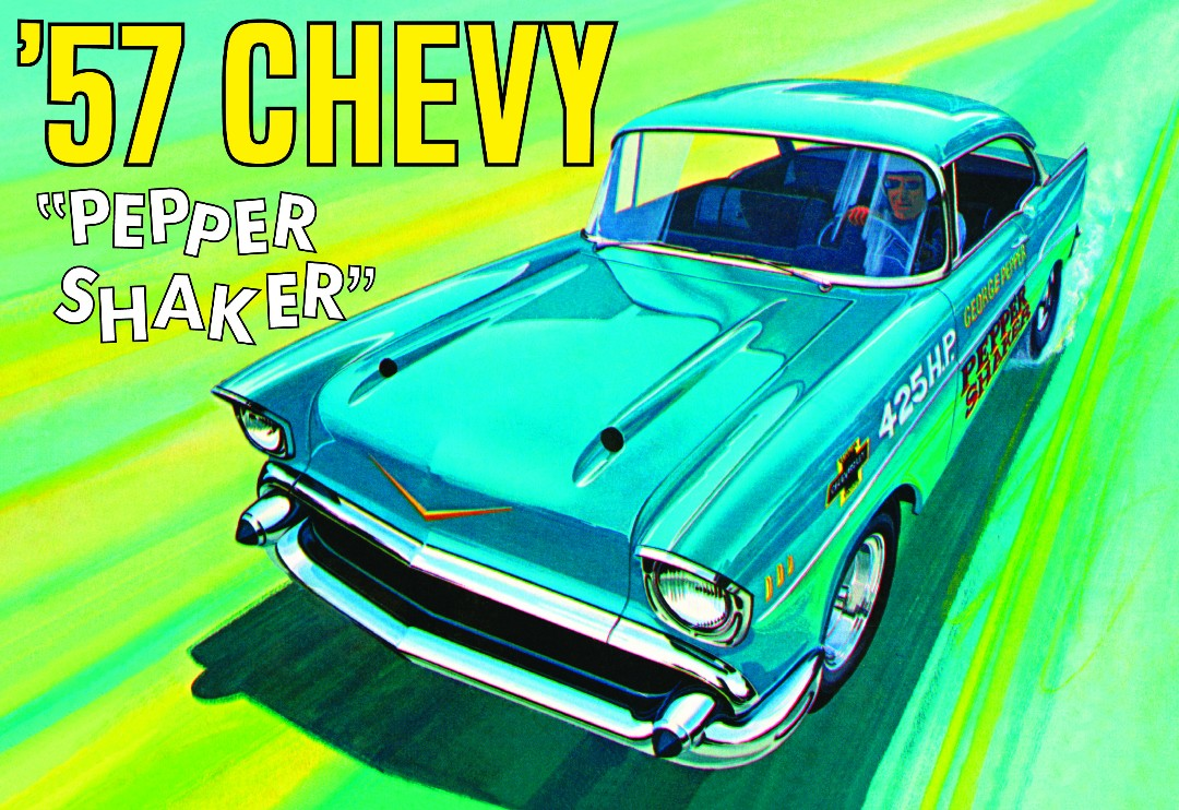 AMT 1957 Chevy Pepper Shaker 1/25 Model Kit