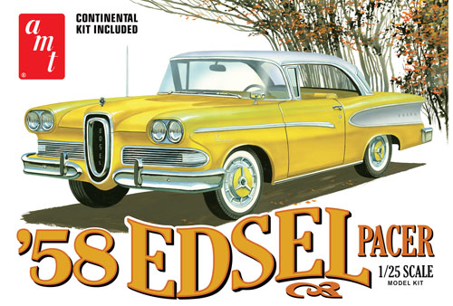 AMT 1958 Edsel Pacer 1/25 Model Kit (Level 2)