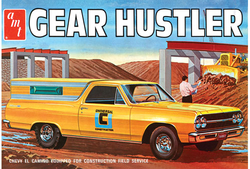 AMT 1965 Chevy El Camino Gear Hustler 1/25 Model Kit