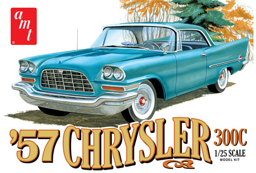 AMT 1957 Chrysler 300 1/25 Model Kit