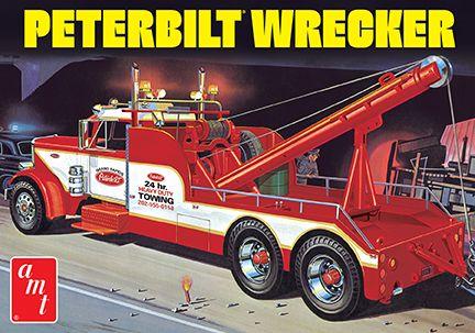 AMT Peterbilt 359 Wrecker 1/25 Model Kit (Level 3) - Click Image to Close