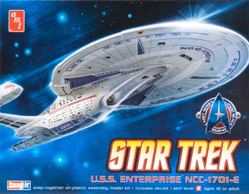 AMT Cadet Series USS Enterprise NCC-1701-E 1/2500 Kit (Level 2)