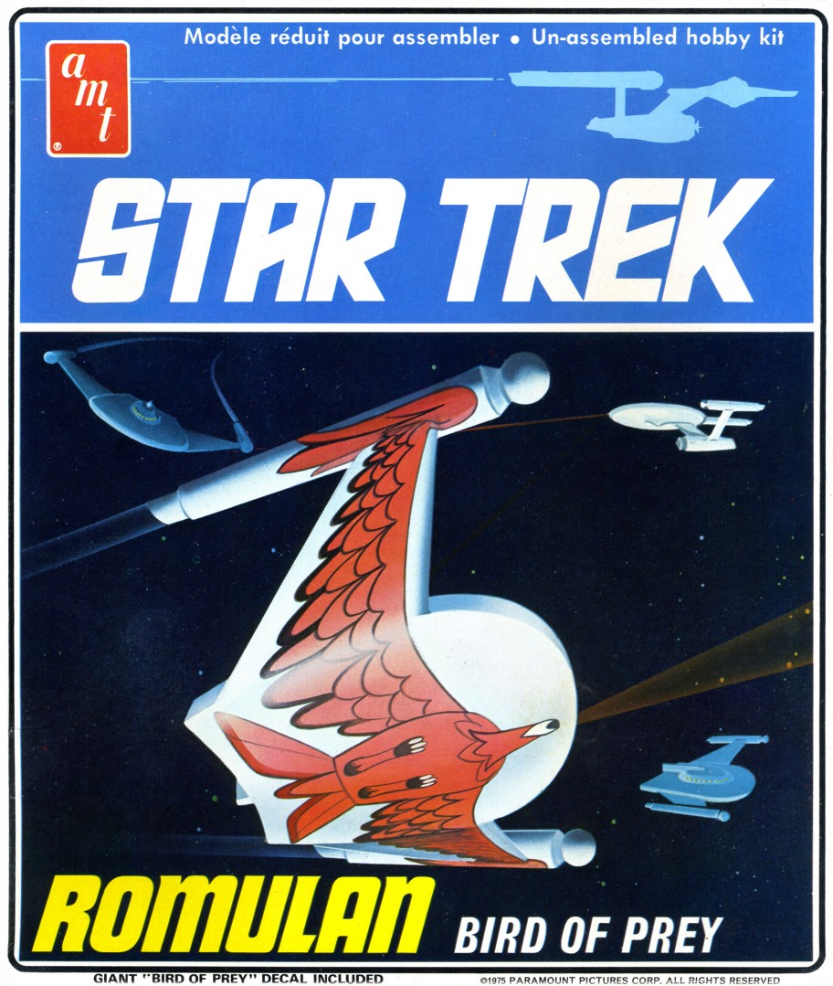 AMT Star Trek Romulan Bird-Of-Prey Model Kit (Level 2)
