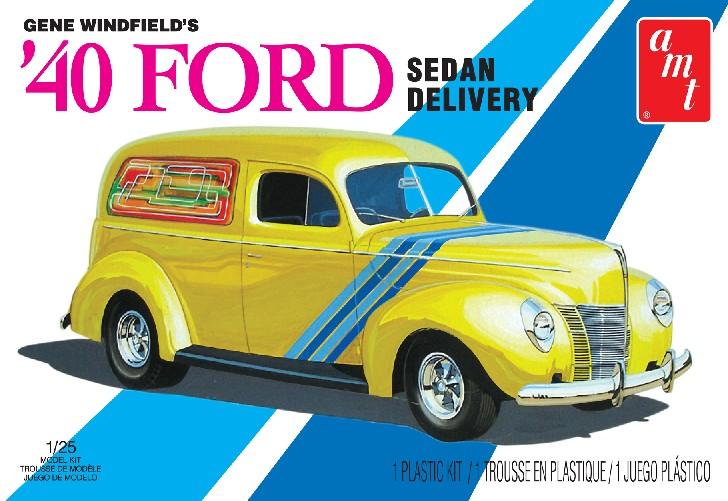AMT 1940 Ford Sedan Delivery Truck 1/25 Model Kit (Level 2)