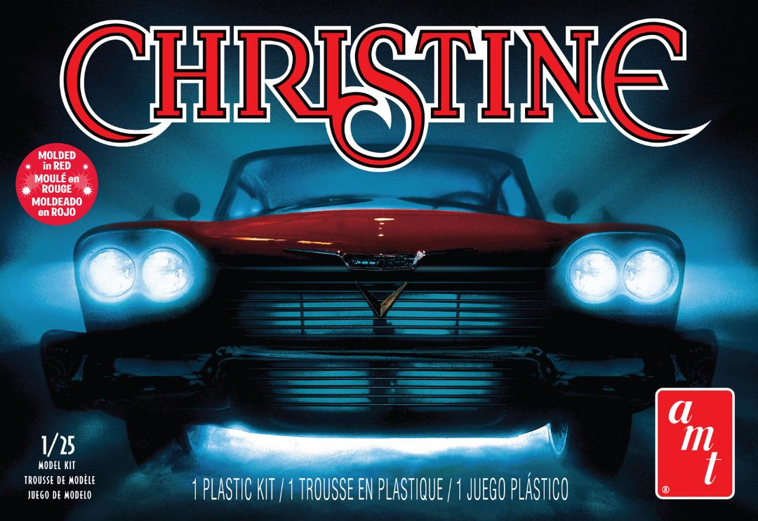 "1958 Plymouth ""Christine"" 1/25 Model Kit (Level 2)"