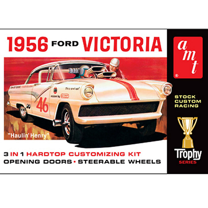 1956 Ford Victoria 1/25 Model Kit (Level 2)