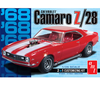 AMT 1968 Chevrolet Camaro Z/28 1/25 Model Kit (Level 2)