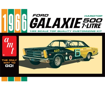 AMT 1966 Ford Galaxie 500 7-Litre Hardtop 1/25 Model Kit Level 2