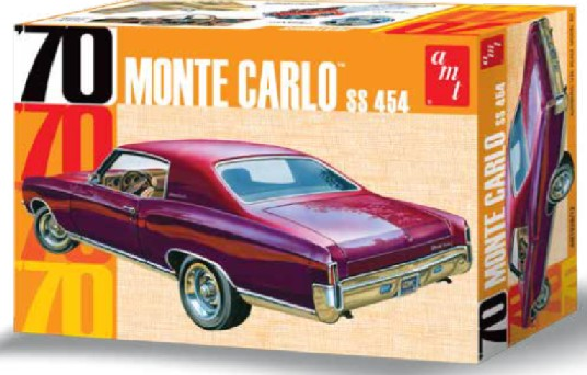 AMT 1970 Monte Carlo SS 454 1/25 Model Kit (Level 2)