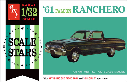 AMT 1961 Falcon Ranchero Pickup 1/32 Model Kit (Level 2)