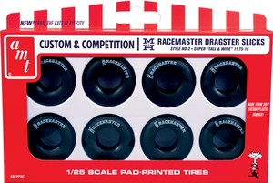Plastic 1/25 M&H drag slicks tire pack