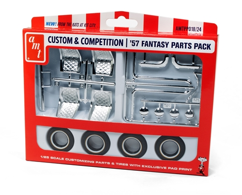 AMT 1957 Fantasy Parts Pack (Works with many 1/25 dragster and c
