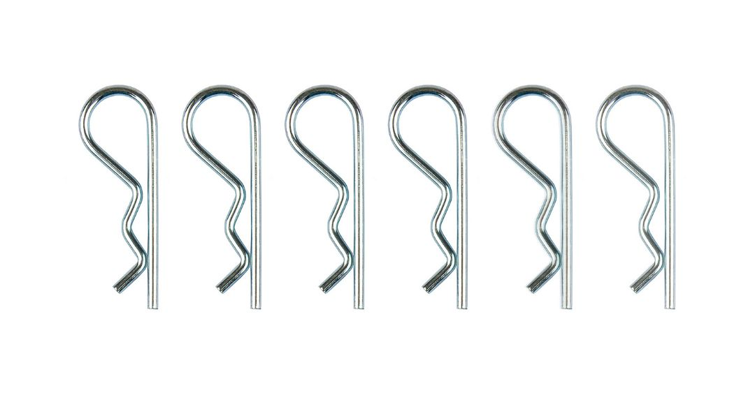 Team Associated Large Body Clip Set (6)