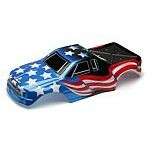 Team Associated MGT 4.60 RTR Flag Body, printed