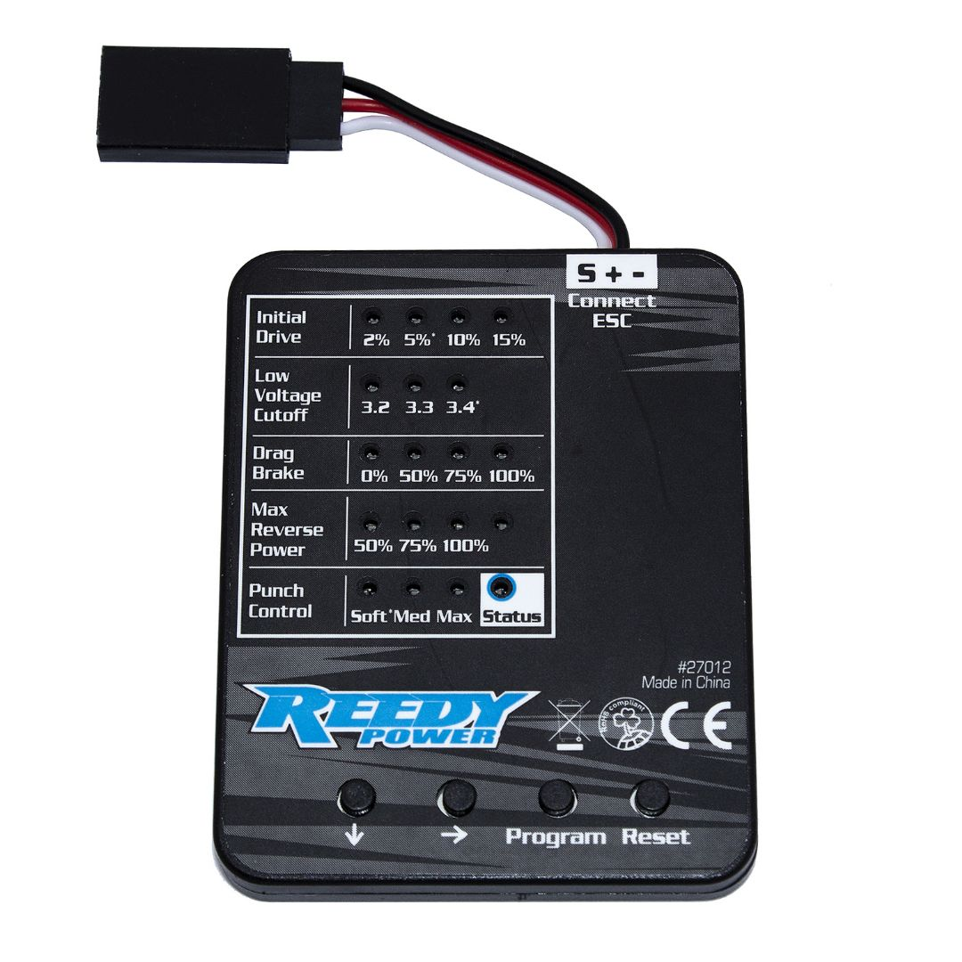 Reedy SC480X Program Card