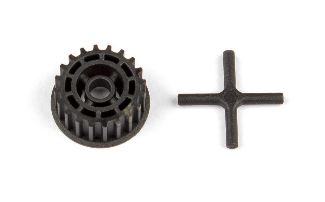 Team Associated TC7.2 Spur Gear Pulley and Diff X-Pin