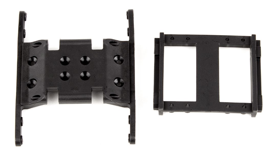 Element RC Enduro Gearbox and Servo Mounts