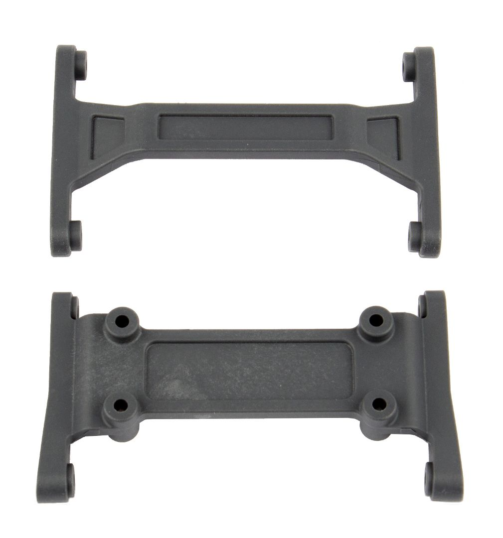 Team Associated Enduro Frame Mounting Plates, hard