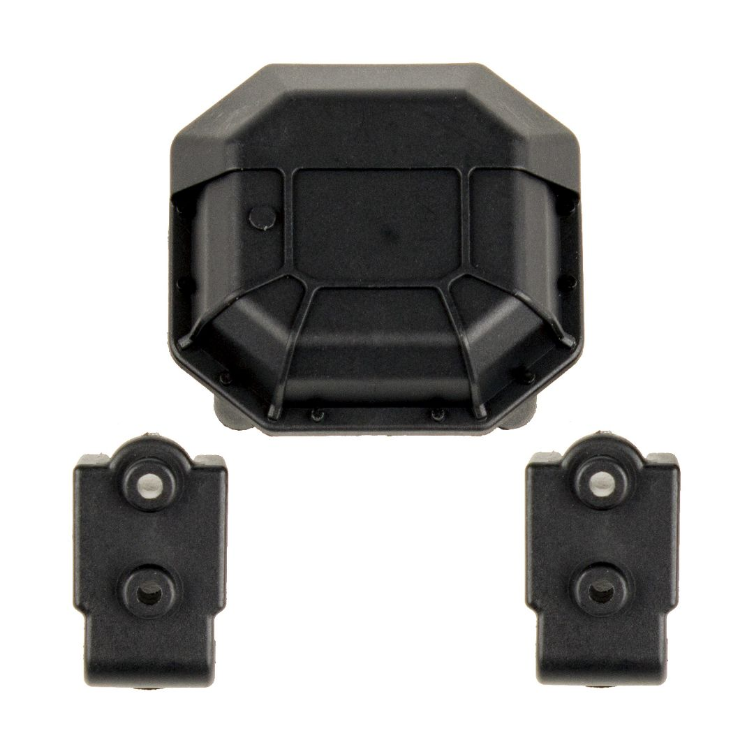 Team Associated Enduro Diff Cover and Lower 4-Link Mounts