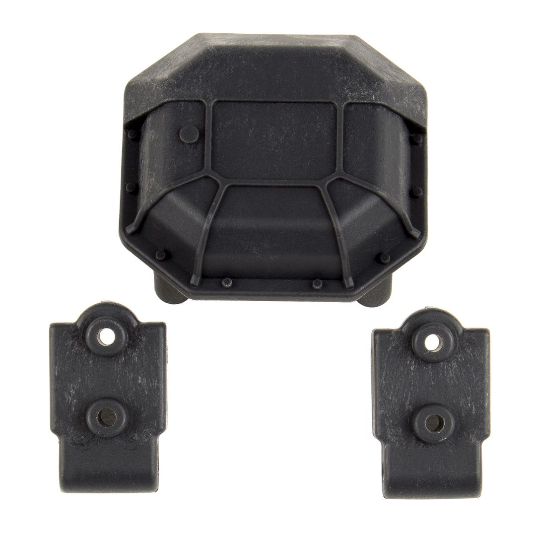 Element RC Enduro Diff Cover and Lower 4-Link Mounts, hard