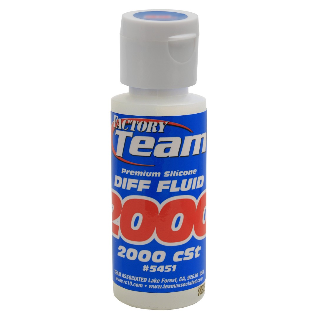 Team Associated Silicone Differential Fluid (2oz) (2,000cst)