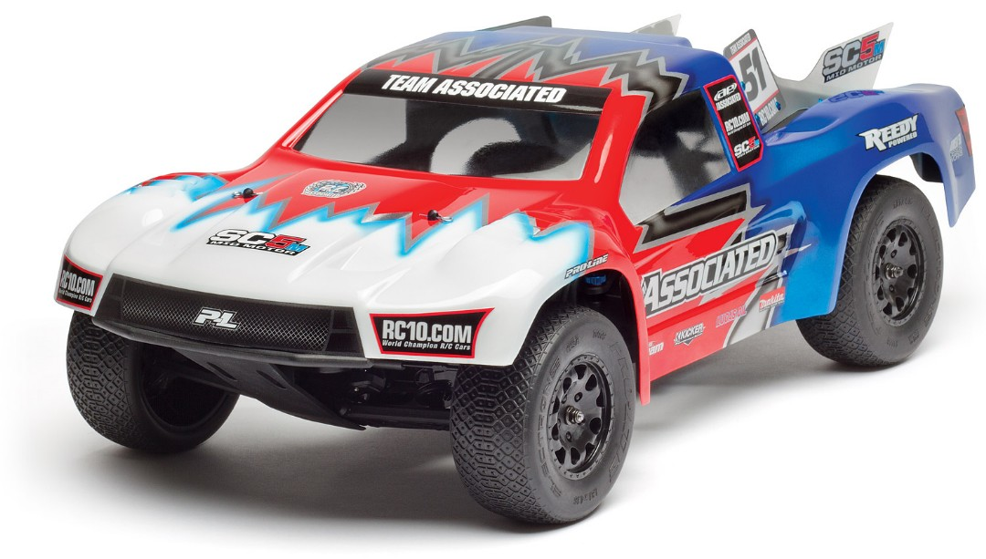 Team Associated RC10 SC5M Team 1/10 Electric 2WD SC Truck Kit