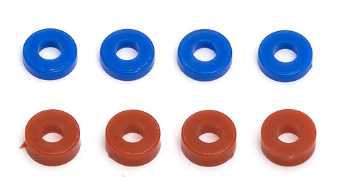 Team Associated Caster/Hub Spacers (RC8) (8)