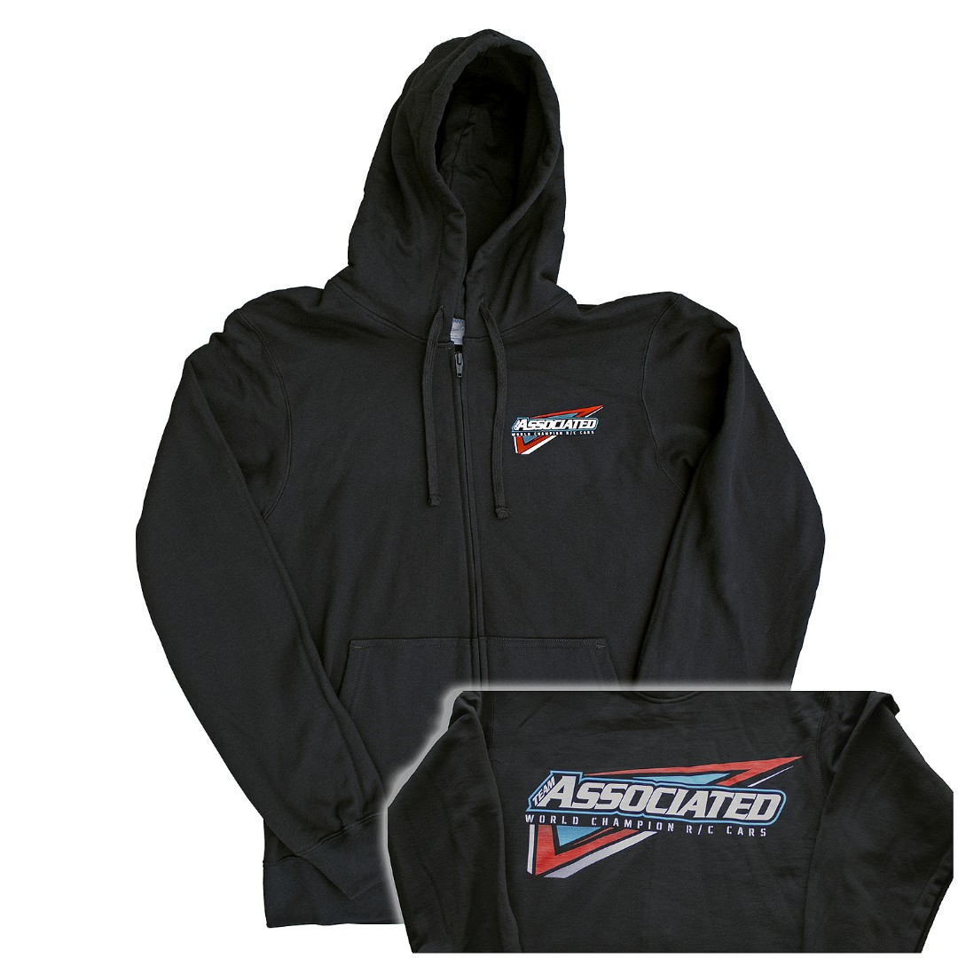 Team Associated Team Associated Tri Zip-Up, black, Medium