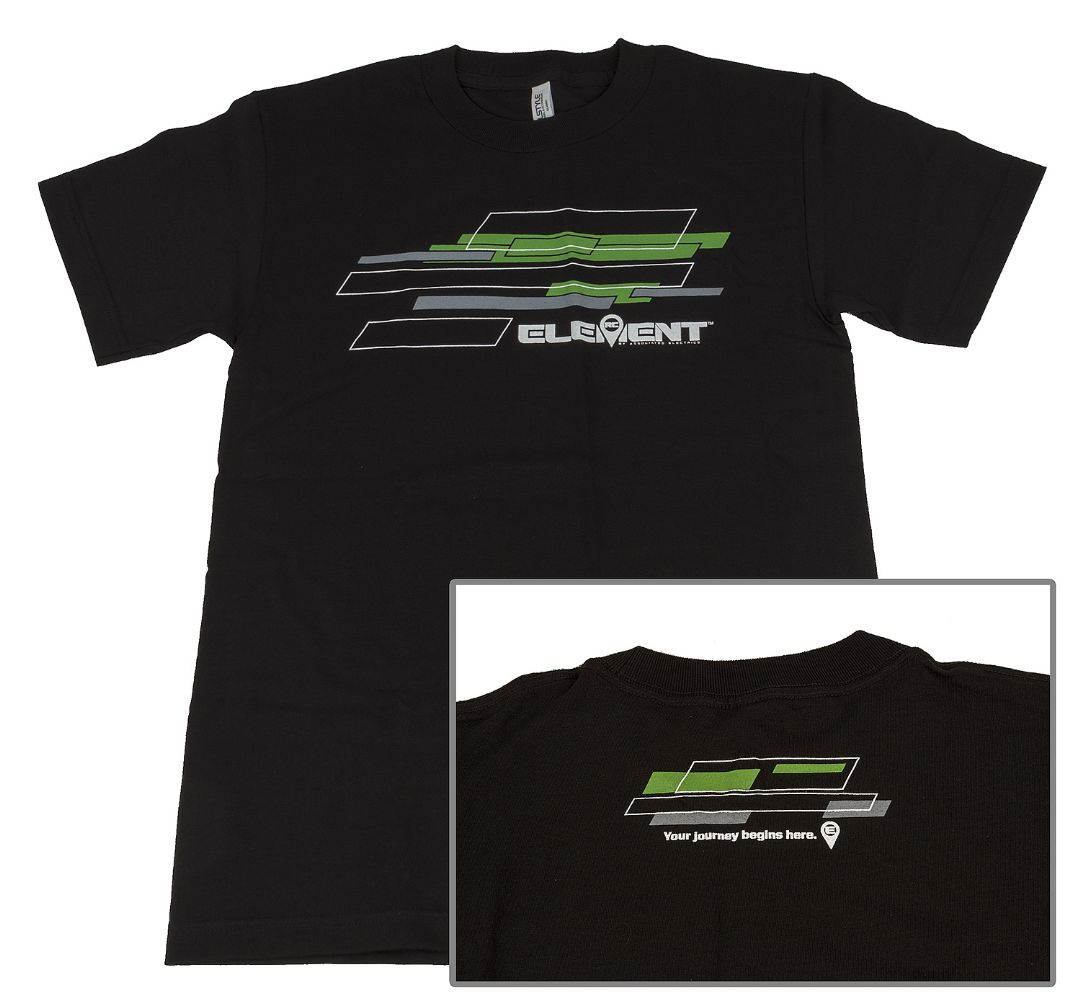 Element RC Rhombus T-Shirt, black, 5XL