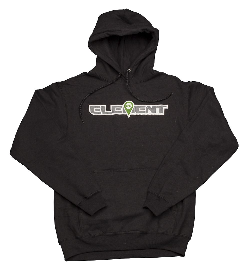 Element RC Logo Pullover, black, 4XL