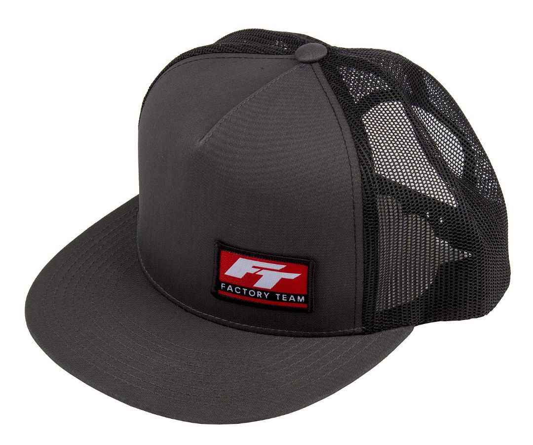 Team Associated Factory Team Logo Trucker Hat, flat bill