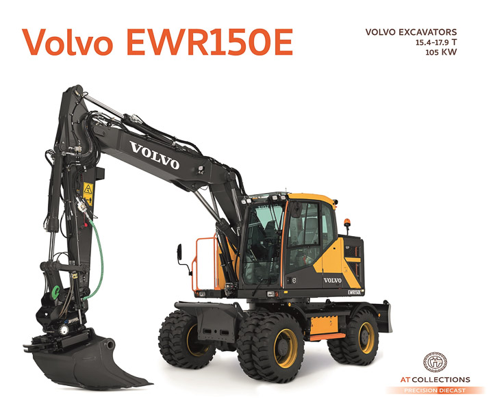 AT Collections - 1/32 Volvo EWR150E Excavator