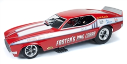 Auto World 1/18 1972 Ford Mustang NHRA Funny Car - Foster's King